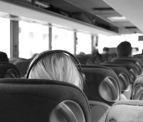 Ir en bus a la Universidad