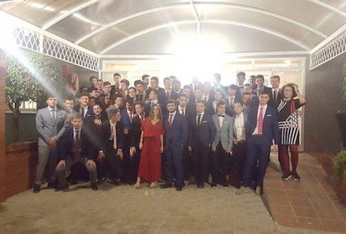Cena de inauguración al nuevo curso 2018/19