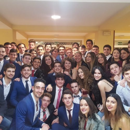 Cena navidad en residencia universitaria en Sevilla Campus Cartuja