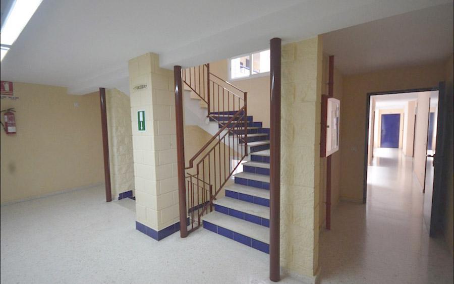 residencia de estudiantes todo incluido pasillo