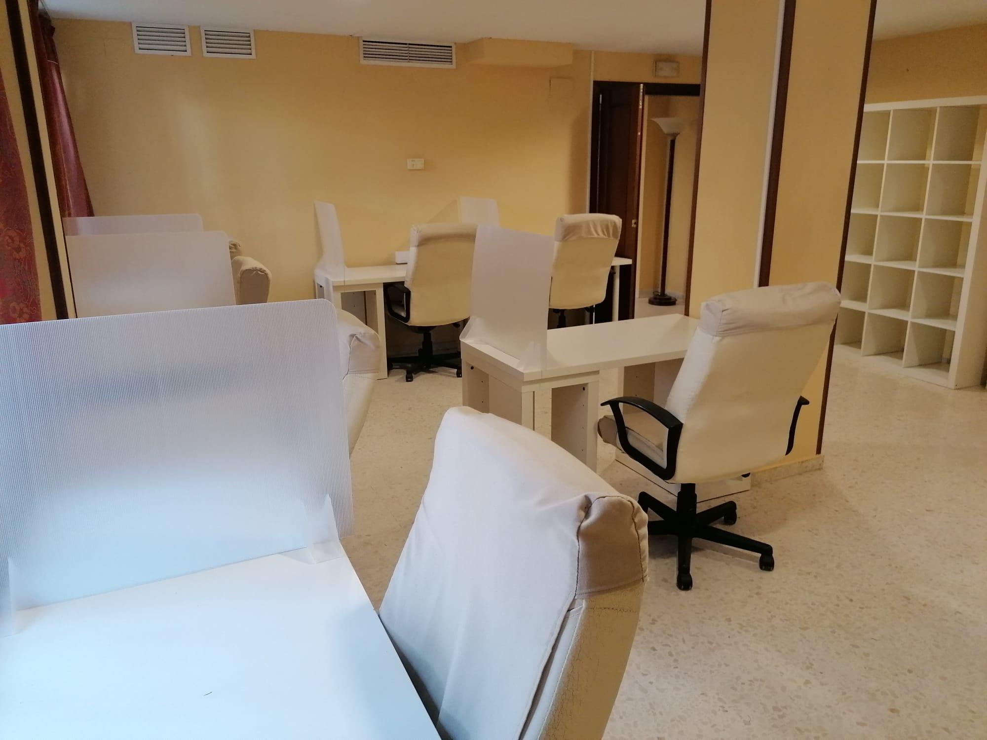 sala de estudios de residencia universitaria